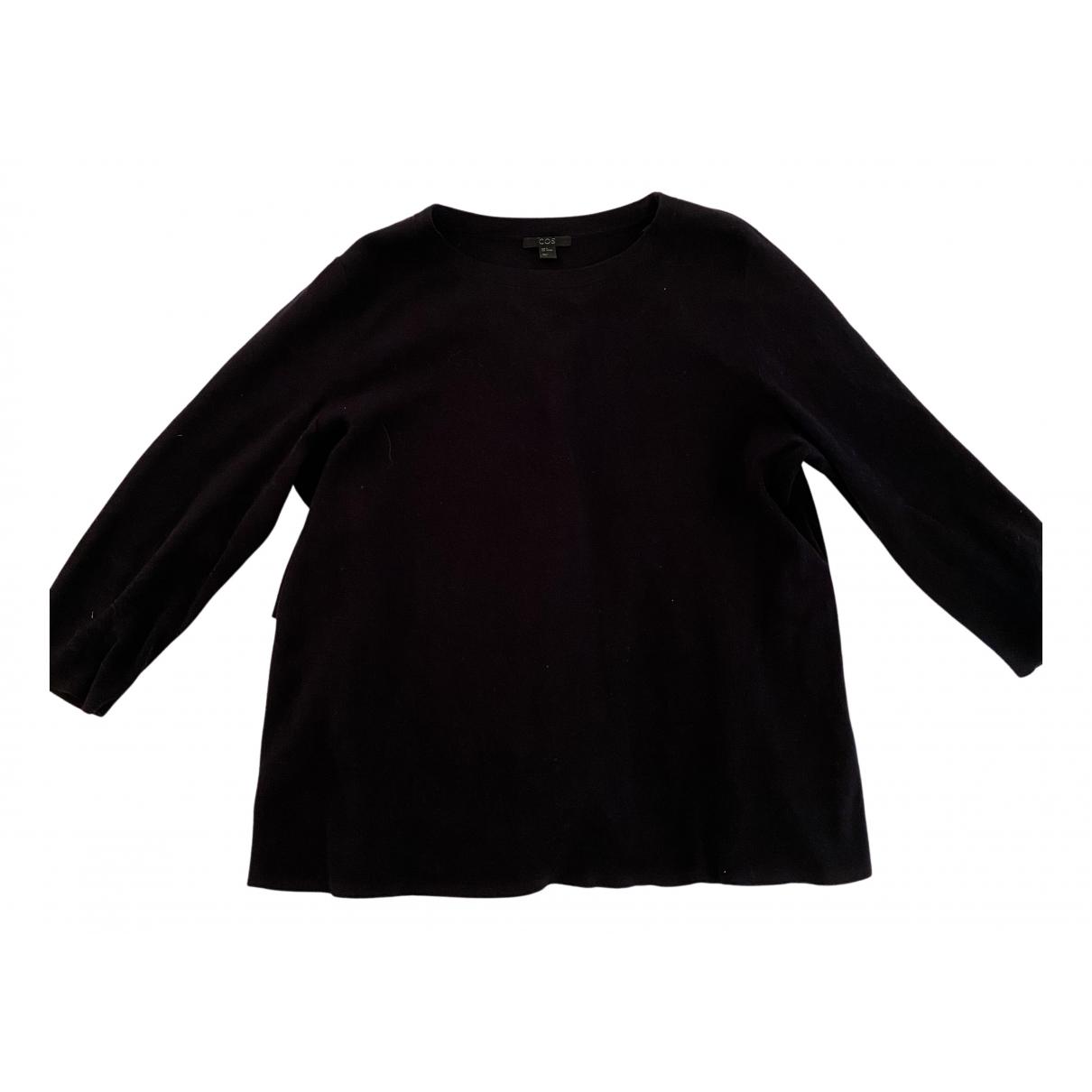 Cos N Navy Cotton Knitwear for Women M International