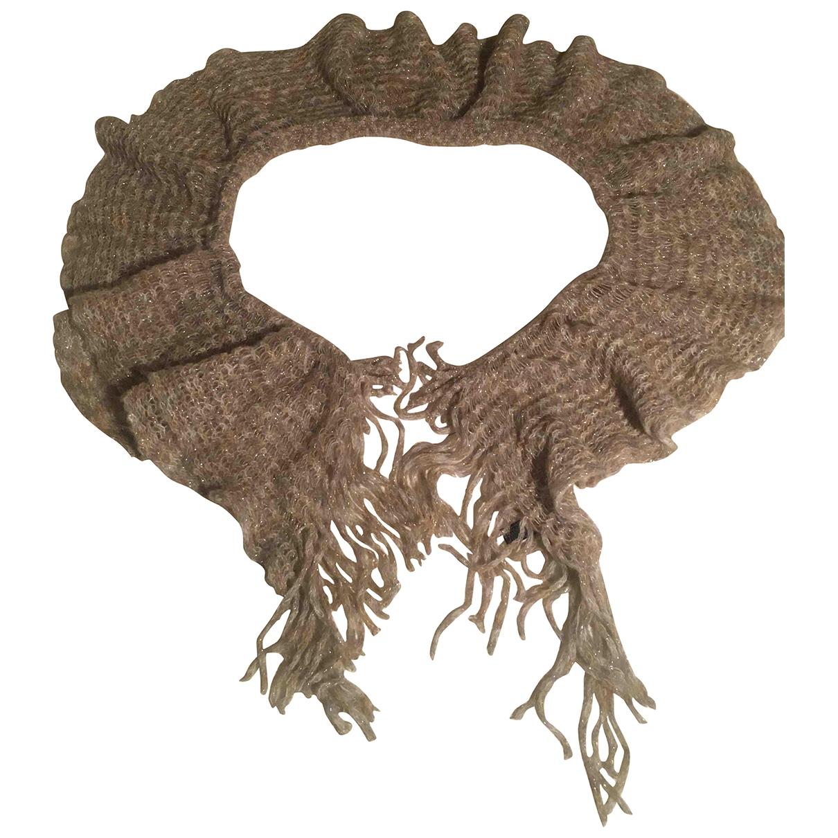 Missoni \N Schal in  Grau Wolle