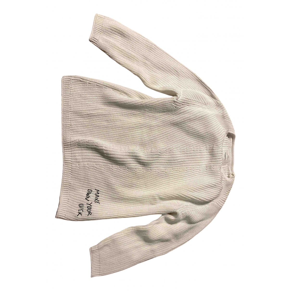 Zara N White Cotton Knitwear for Kids 10 years - up to 142cm FR