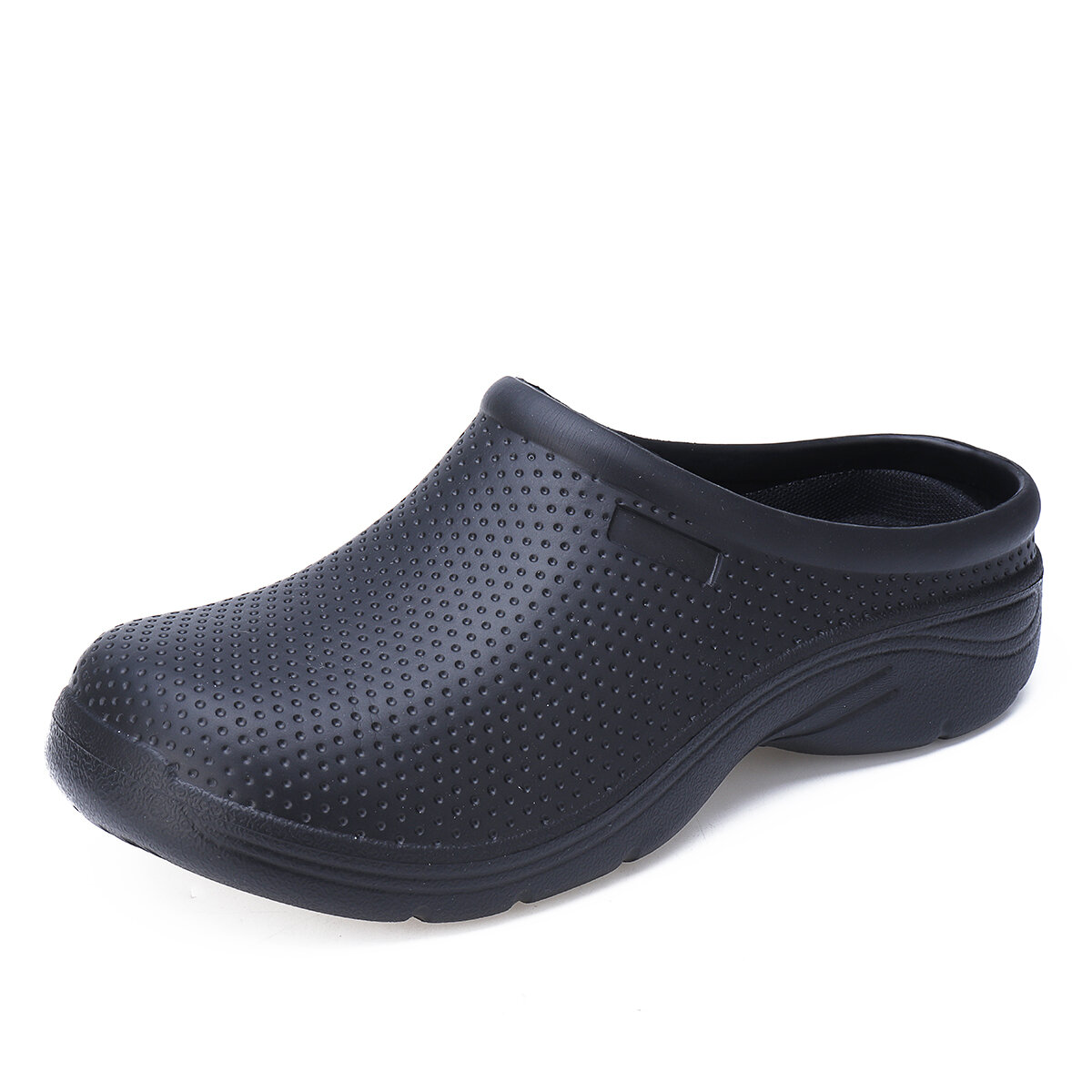 Women Working Chef Clogs Non Slip Sandals Round ToeBackless Nursing Shoes