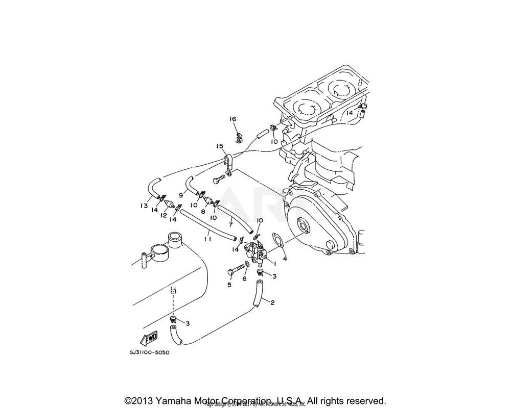 Yamaha OEM 90465-08M69-00 CLAMP | (USA)