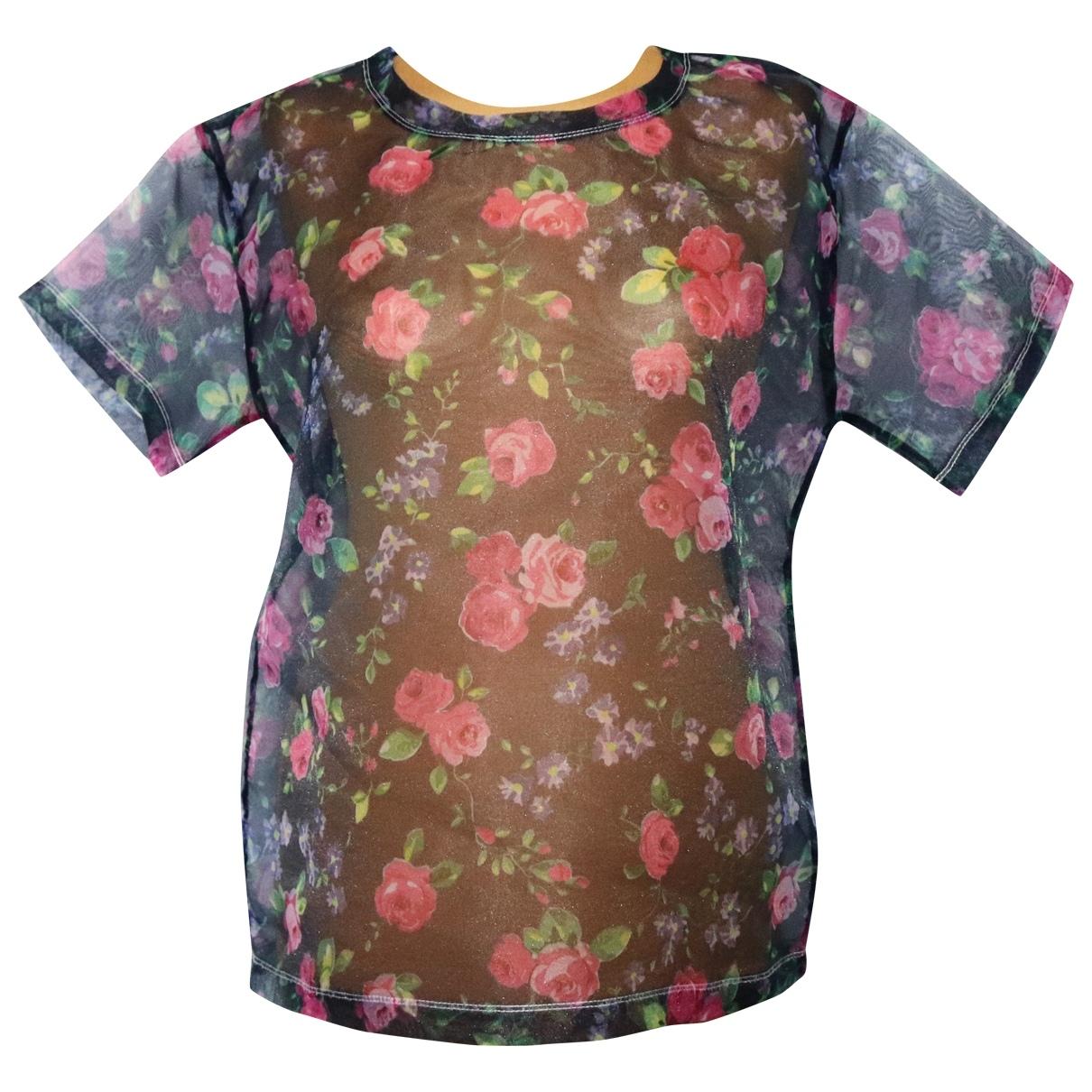 Carven - Top   pour femme - multicolore