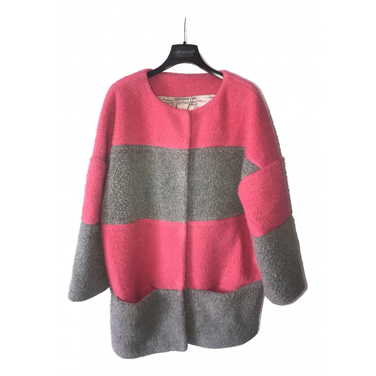 Max & Co - Manteau   pour femme en laine - rose