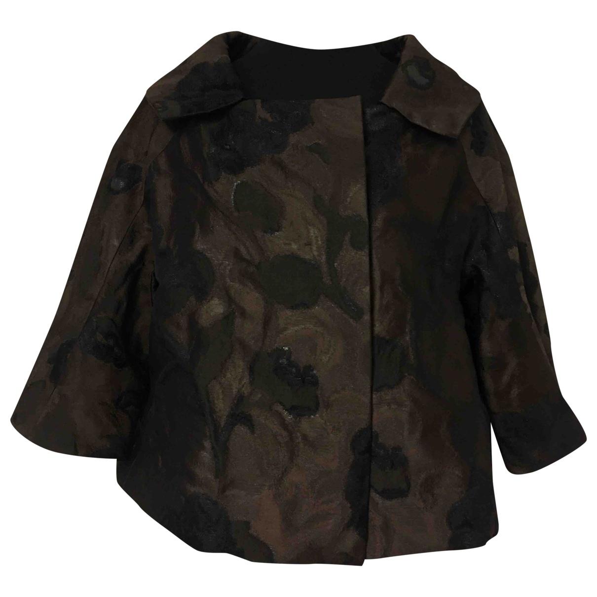 Shiatzy Chen \N Brown Silk jacket for Women 38 IT