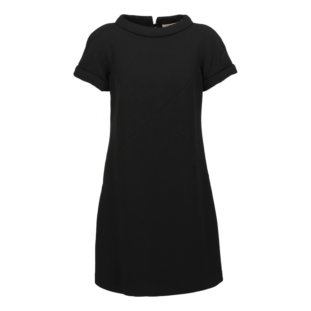 Red Valentino Garavani \N Black Wool dress for Women 44 IT