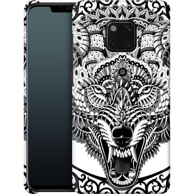 Huawei Mate 20 Pro Smartphone Huelle - Wolf Head von BIOWORKZ