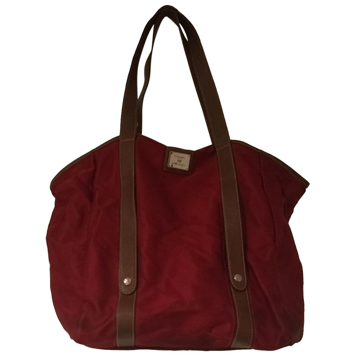 Lancel \N Red Cloth handbag for Women \N