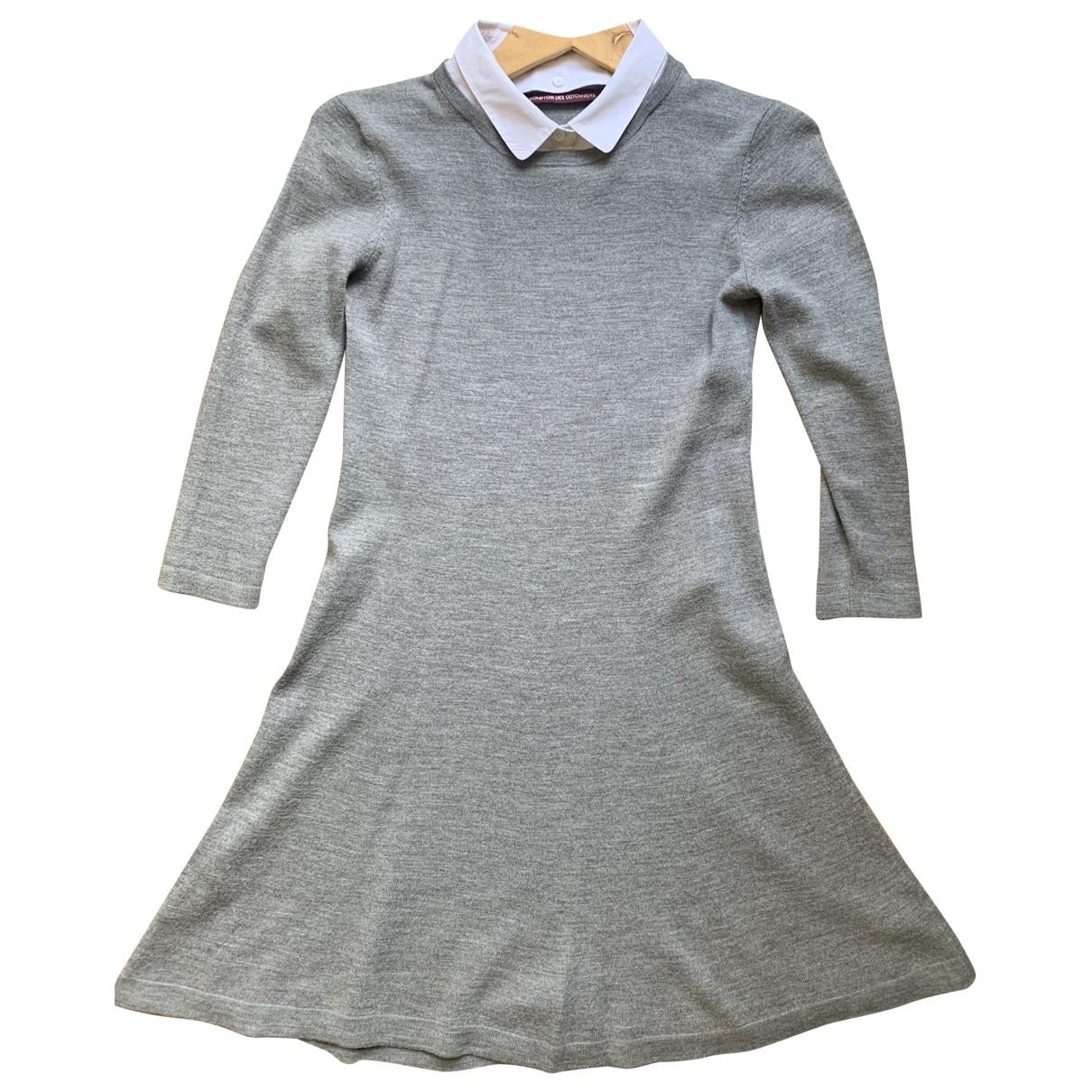 Comptoir Des Cotonniers - Robe   pour femme en laine - gris