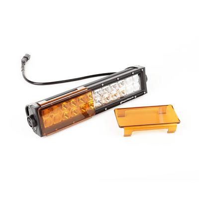 Rugged Ridge 6 Inch LED Light Covers (Amber) - 15210.45