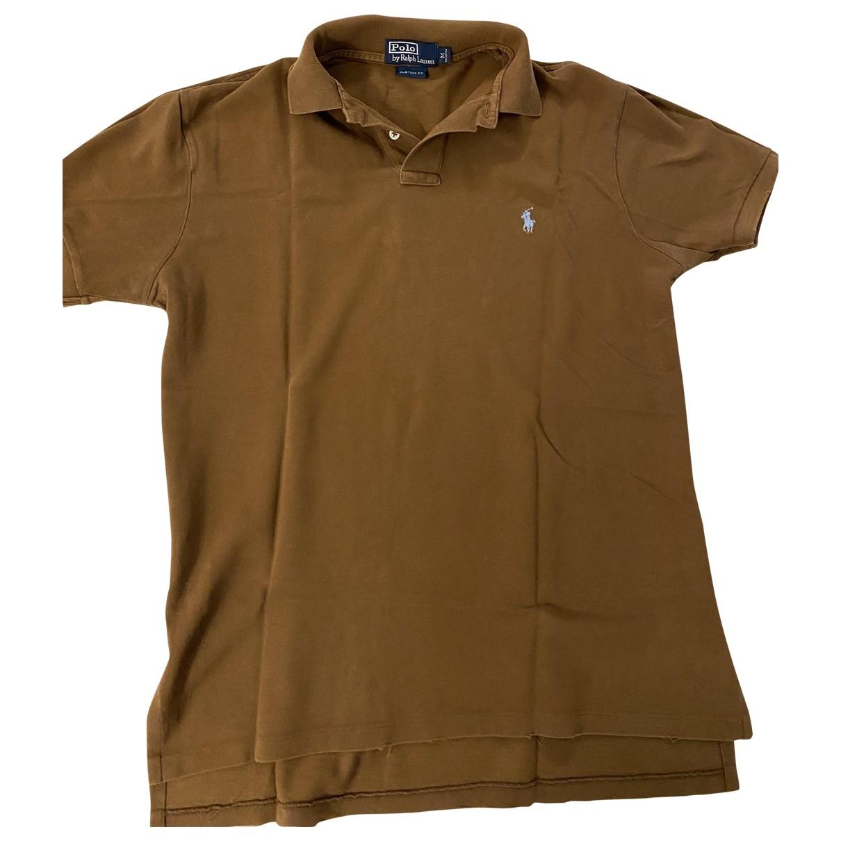 Polo en Algodon Marron Polo Ralph Lauren