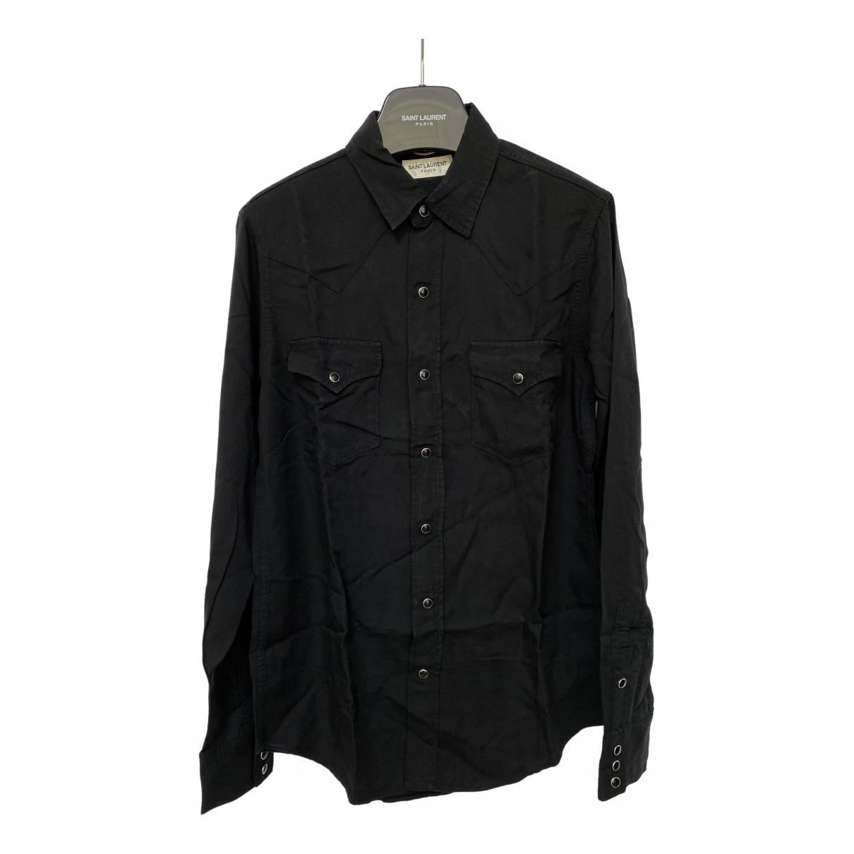 Saint Laurent N Black Shirts for Men S International