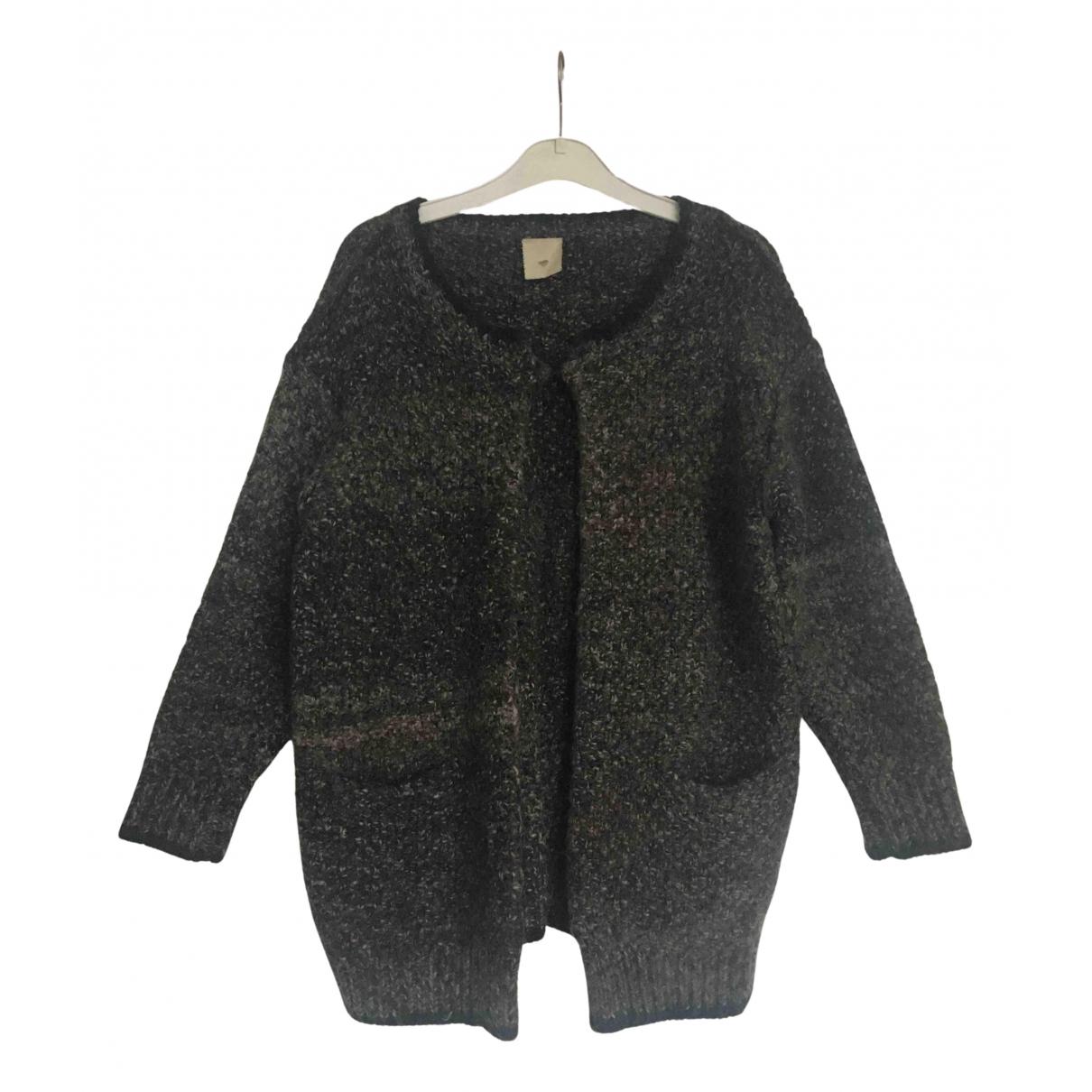 Julie Fagerholt Heartmade - Pull   pour femme en laine - gris