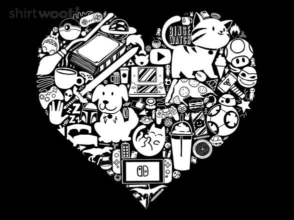 Lots To Love T Shirt