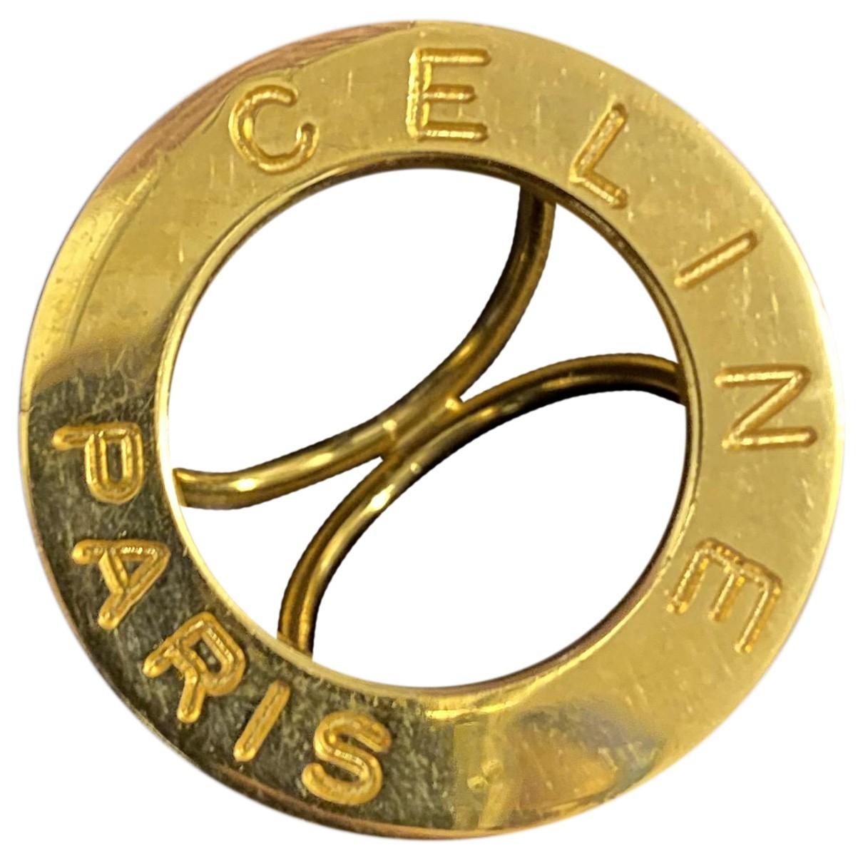 Celine - Bijoux de tete   pour femme en metal - dore