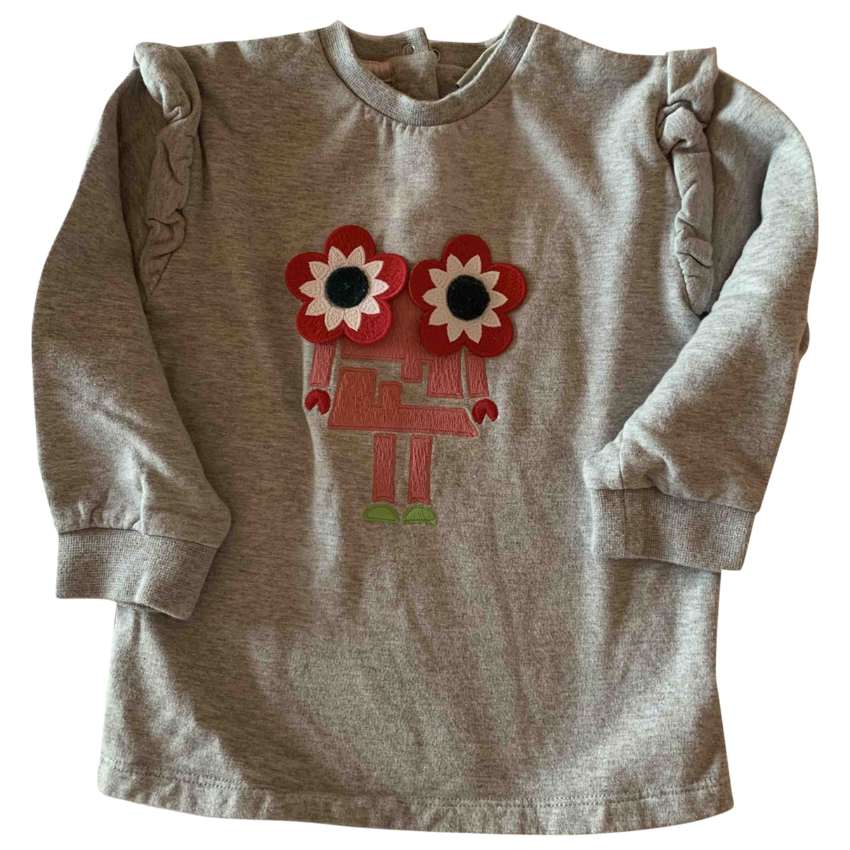 Fendi \N Grey Cotton Knitwear for Kids 2 years - up to 86cm FR