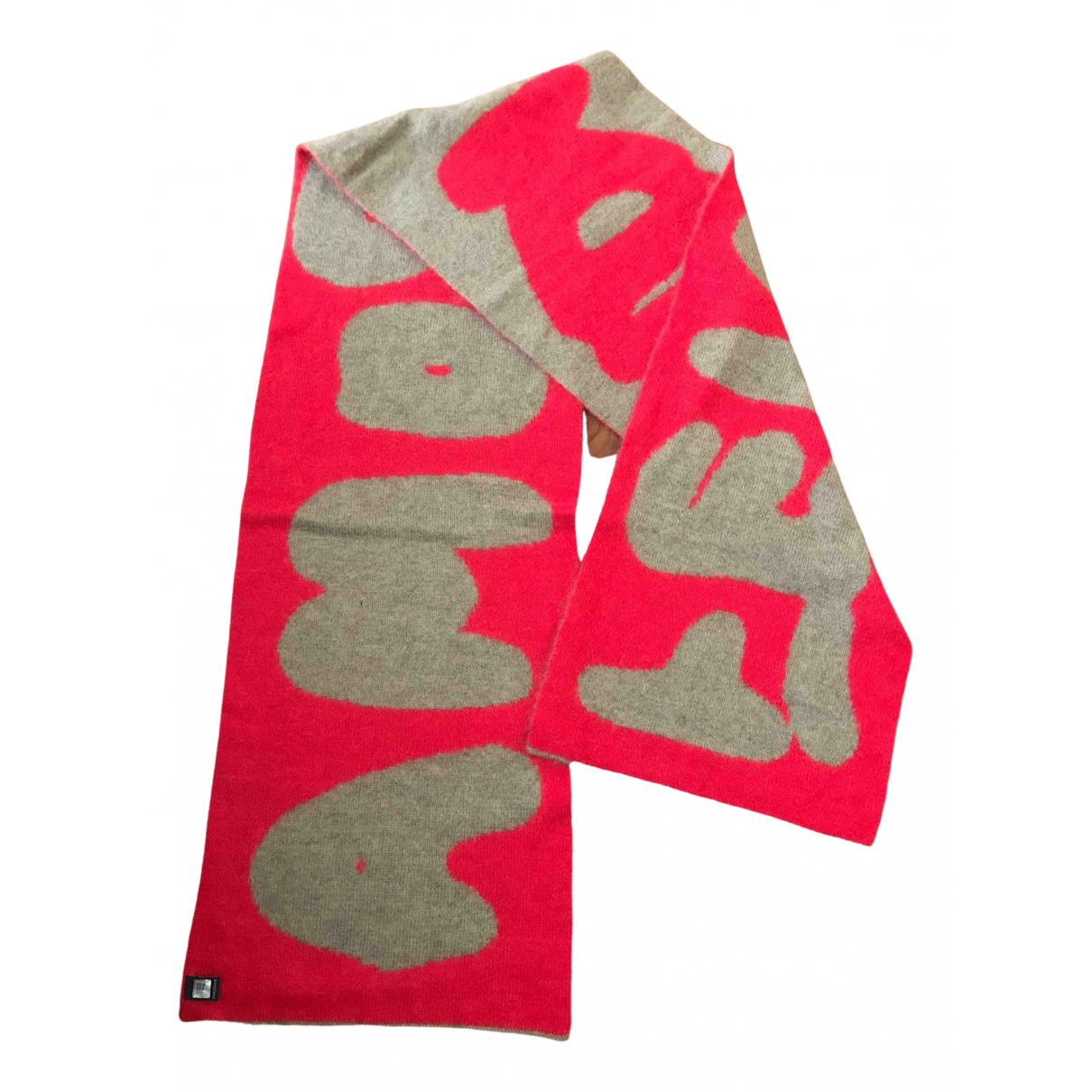 Fendi \N Red Wool scarf for Women \N