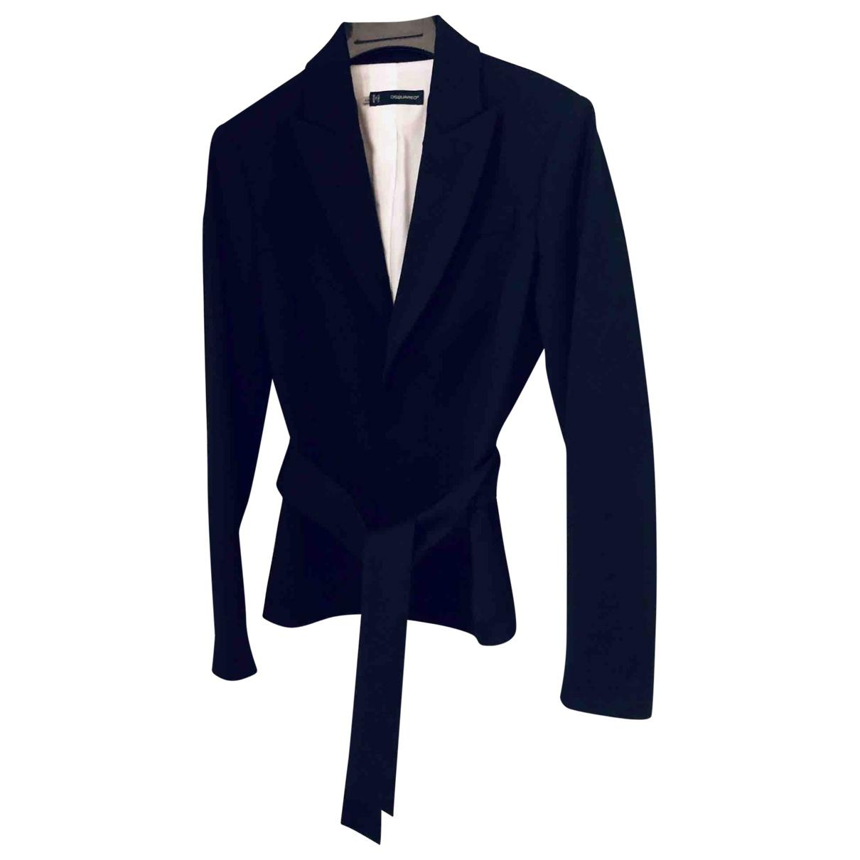 Dsquared2 - Jupe   pour femme en laine - noir