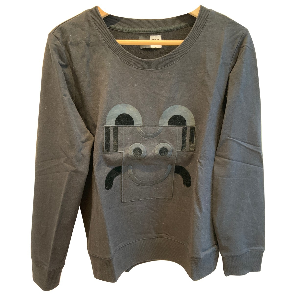 Apc \N Pullover in  Schwarz Baumwolle