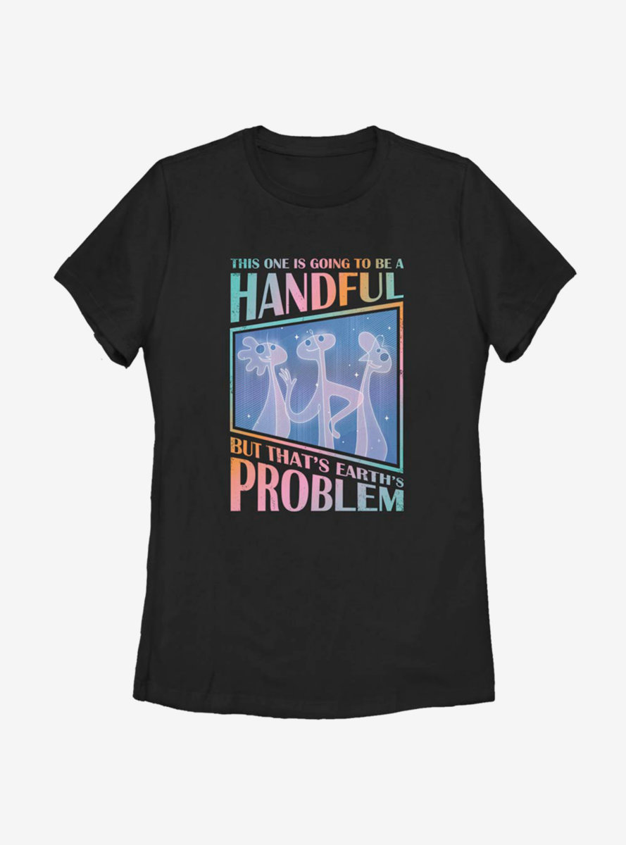 Disney Pixar Soul Jerry Problem Womens T-Shirt