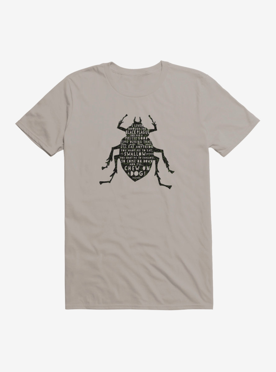 Beetlejuice Beetle Black T-Shirt