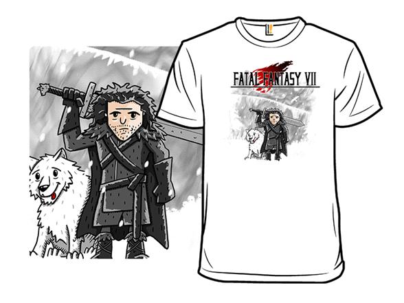 Fatal Fantasy Vii T Shirt