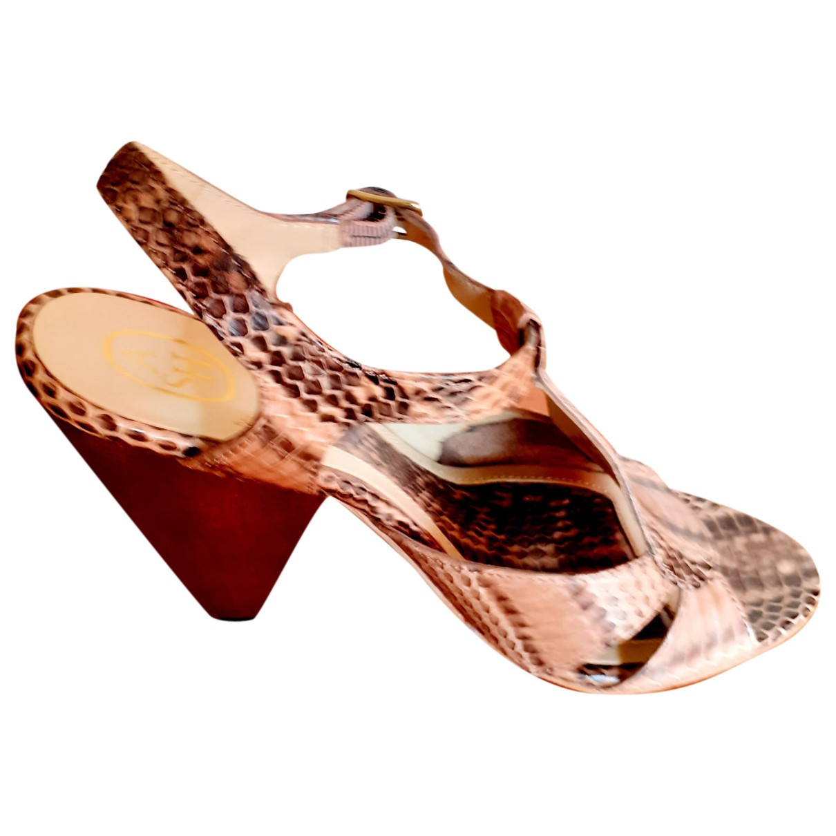 Sandalias romanas de Cuero Ash