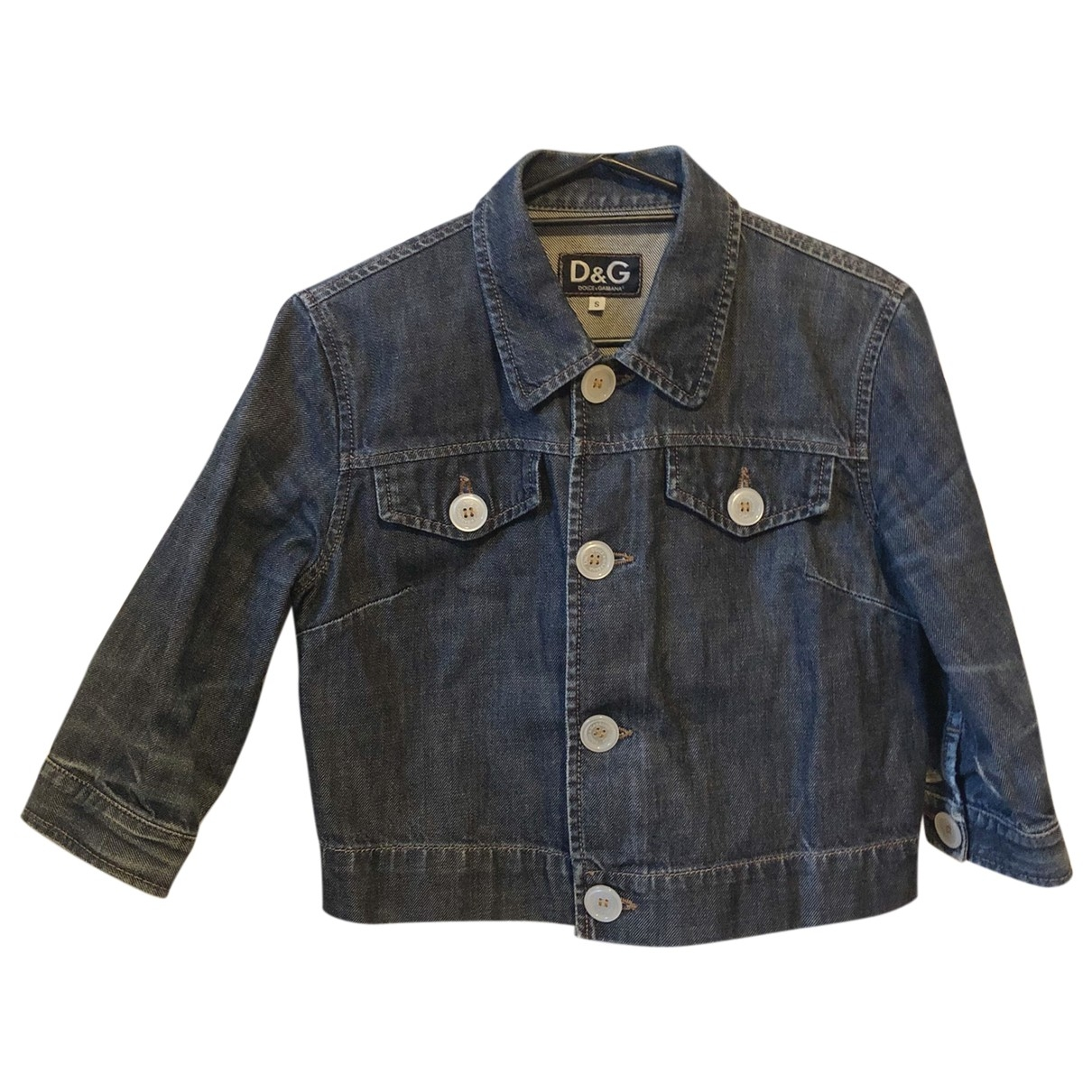 D&g \N Blue Denim - Jeans jacket for Women S International