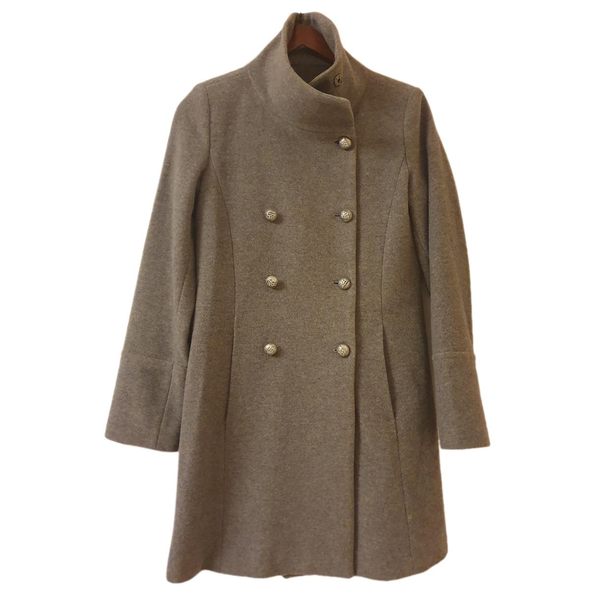 Marella \N Grey Wool coat for Women 38 FR
