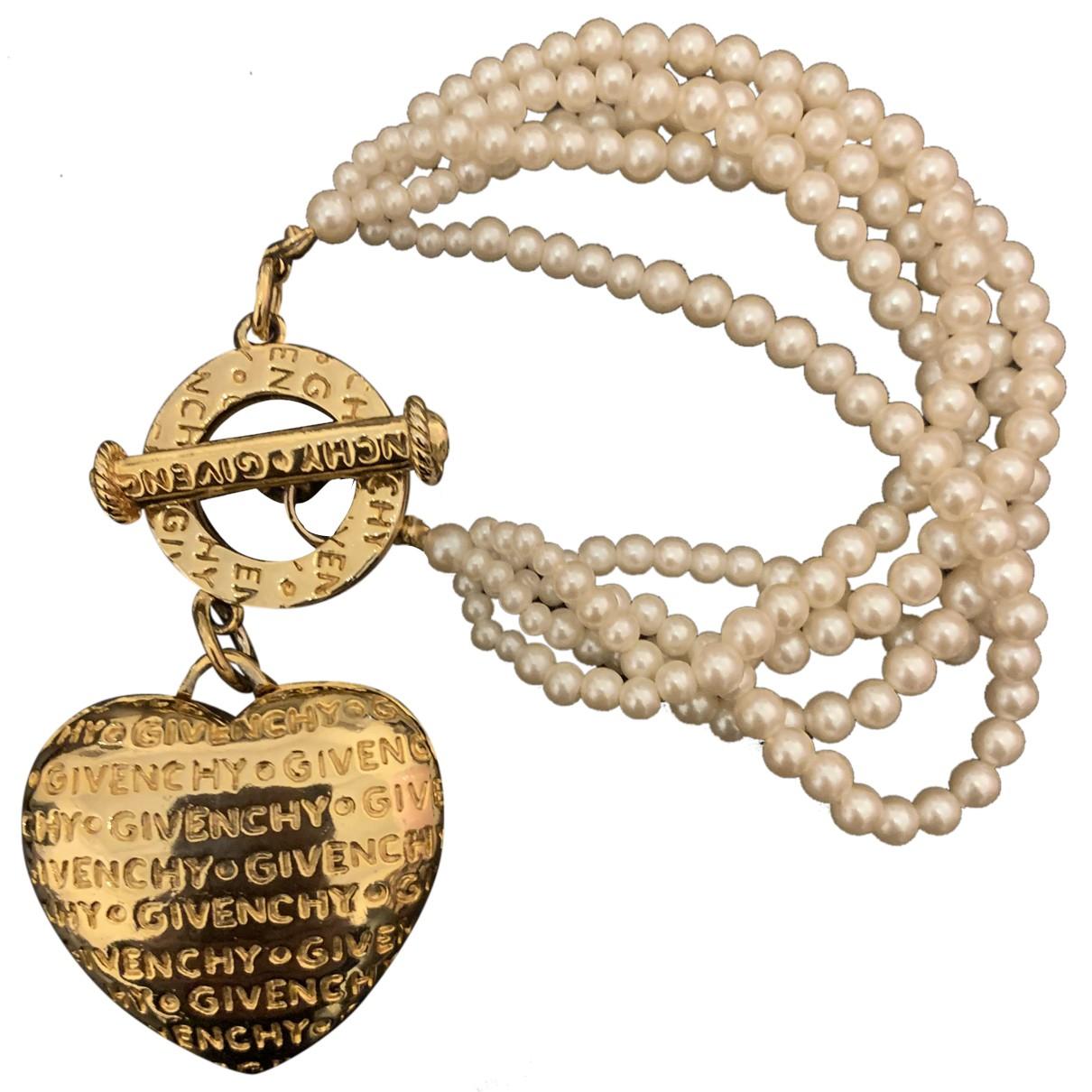 Givenchy N Gold Metal bracelet for Women N