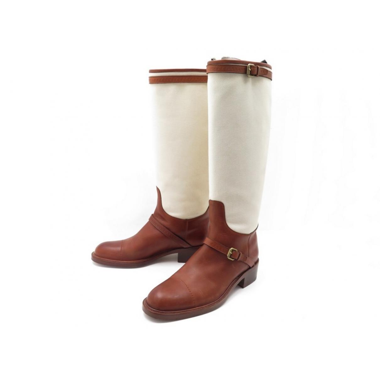 Botas altas de Lona Louis Vuitton