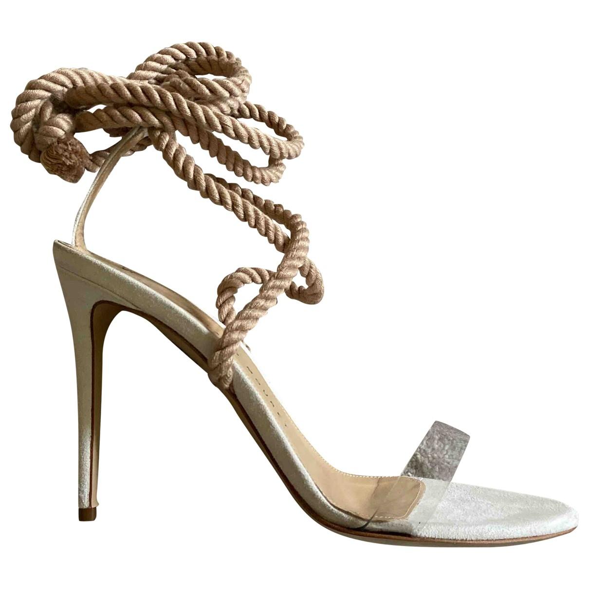 Roland Mouret \N Multicolour Leather Sandals for Women 38 EU