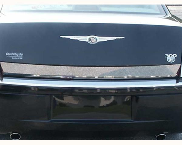 Quality Automotive Accessories 1-Piece 3.62-Inch Width Rear Deck Trim Chrysler 300 | 300C 2005
