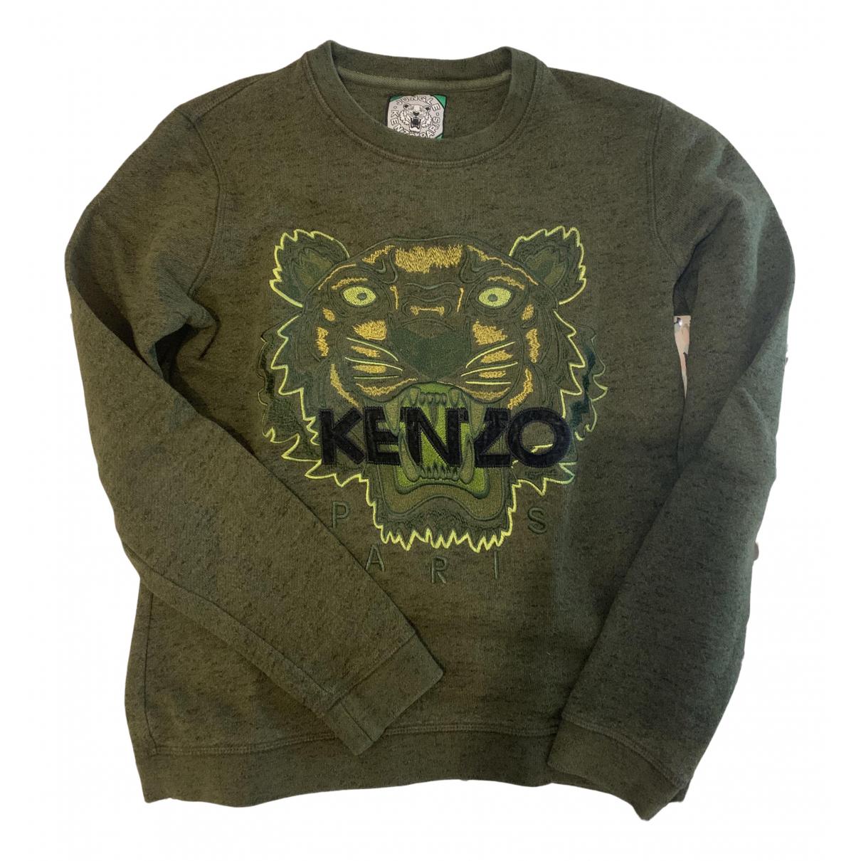 Kenzo \N Khaki Cotton Knitwear for Women 36 FR