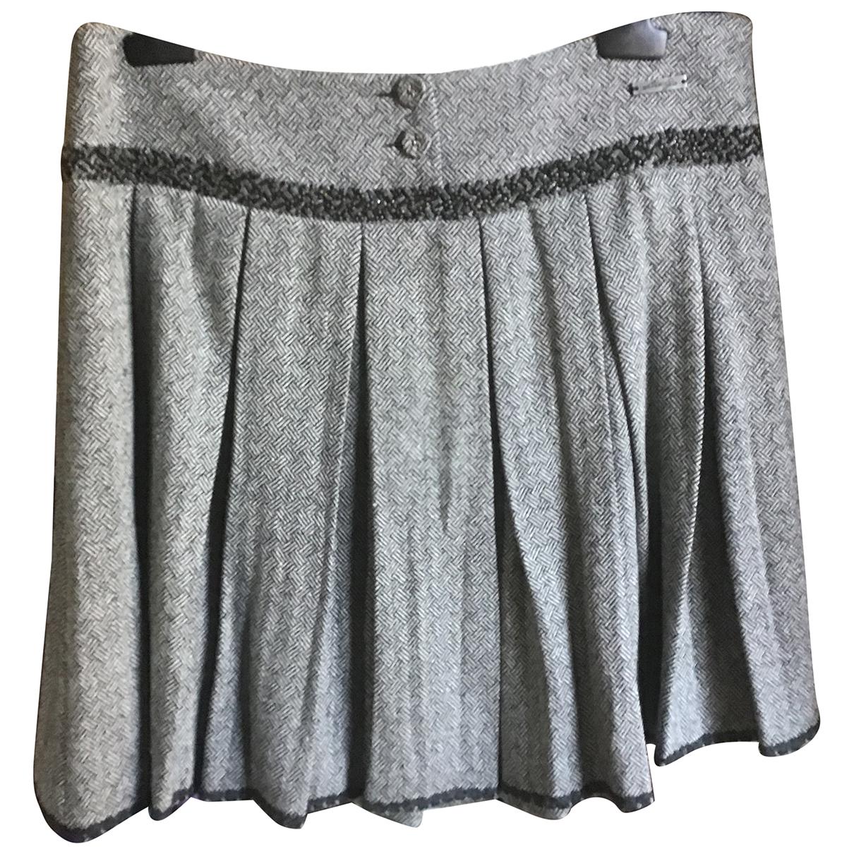 Liu.jo - Jupe   pour femme en laine - gris