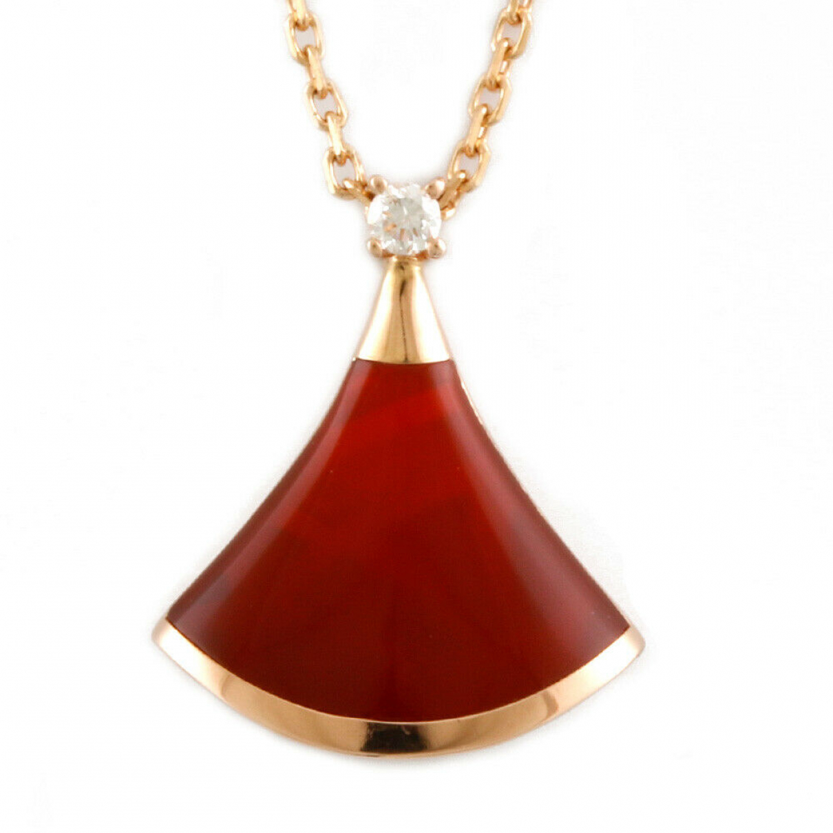 Collar de Oro rosa Bvlgari