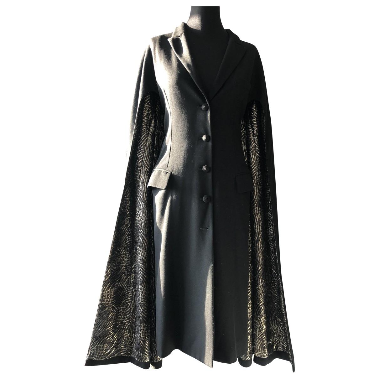 Yves Saint Laurent \N Black Wool jacket for Women 40 FR
