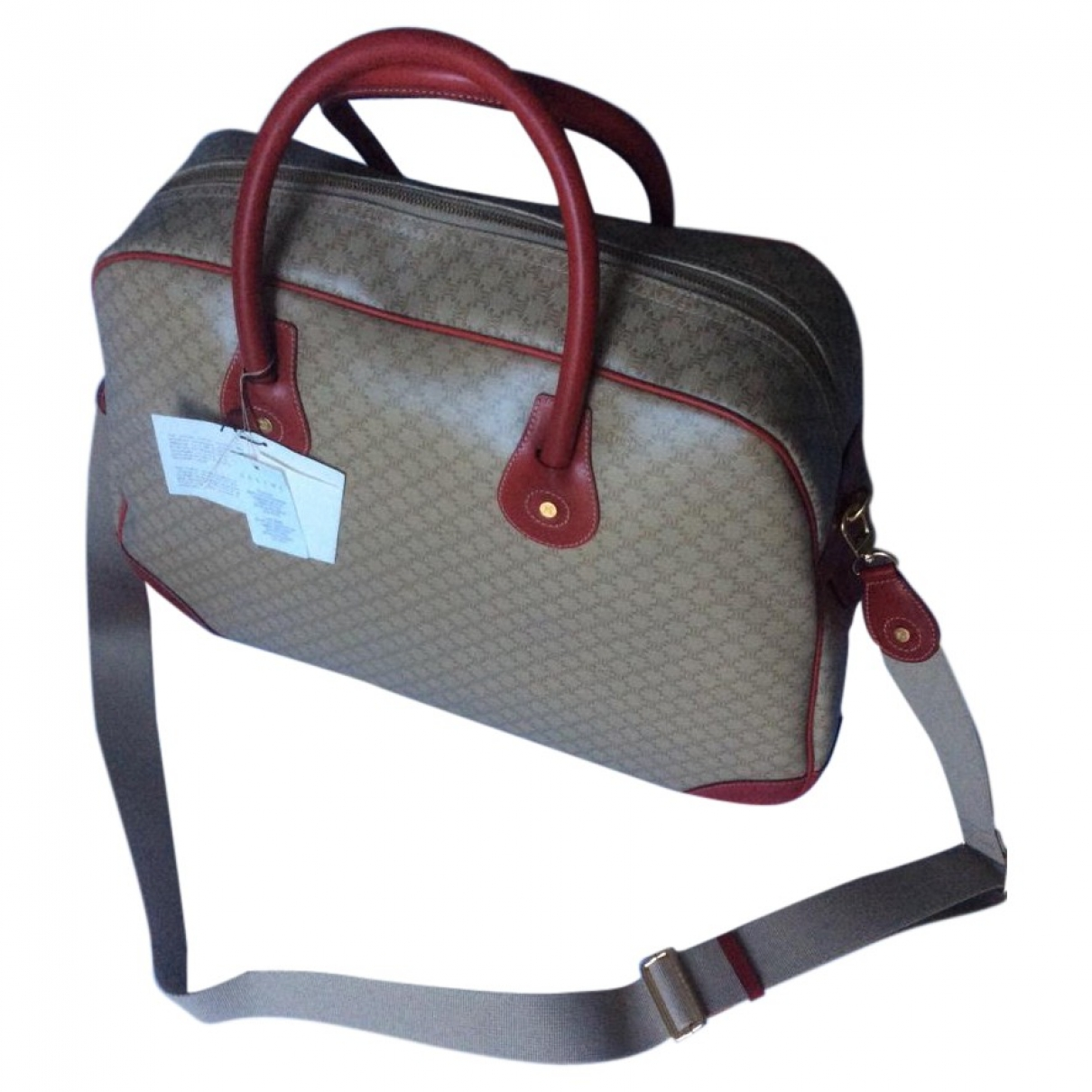 Celine \N Beige Cloth Travel bag for Women \N