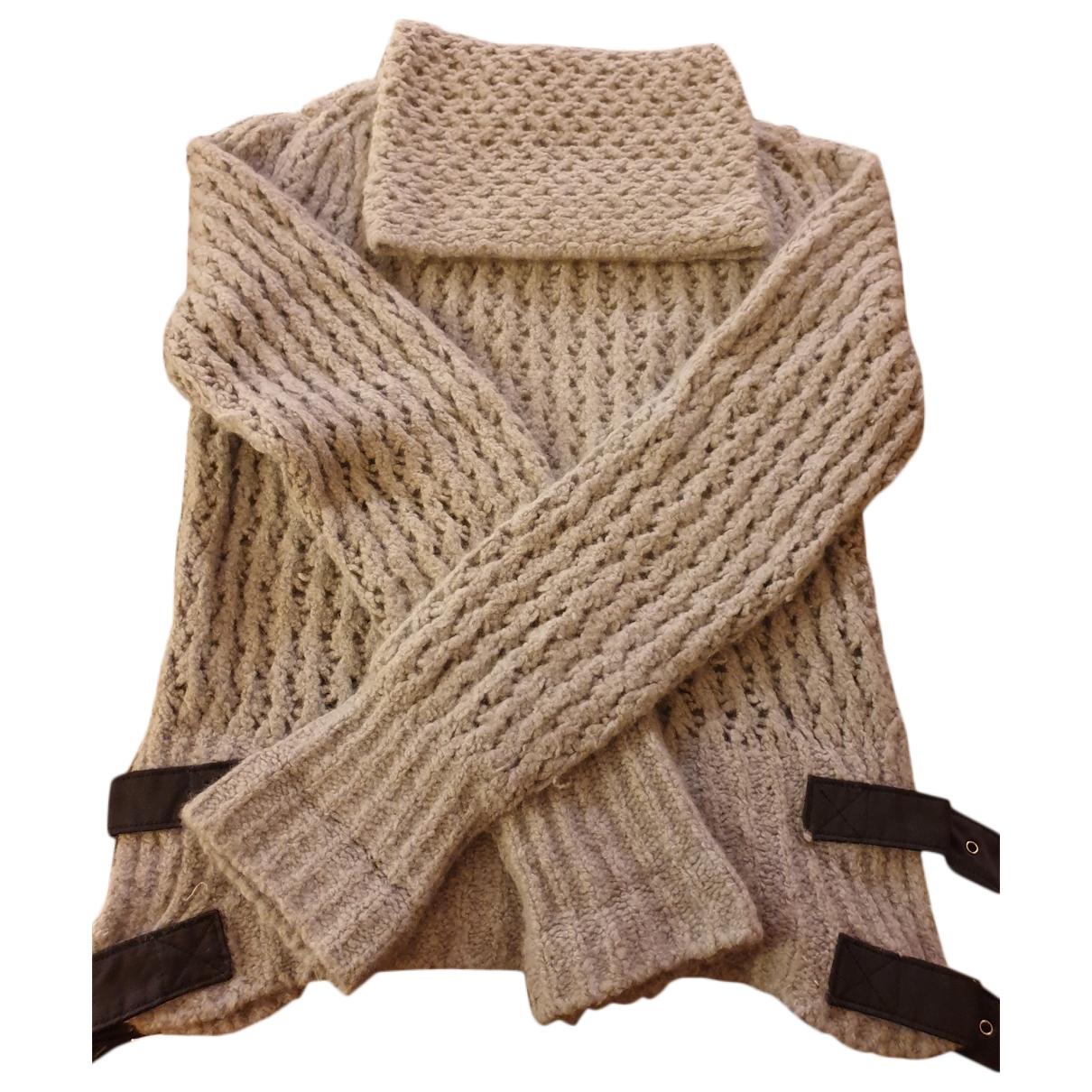 Sport Max - Pull   pour femme en laine - turquoise