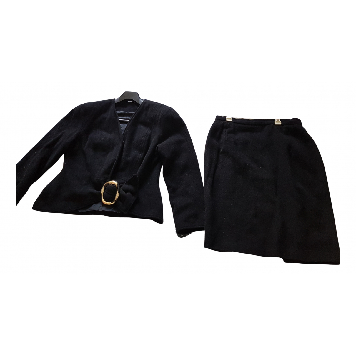 John Richmond - Jupe   pour femme en laine - noir