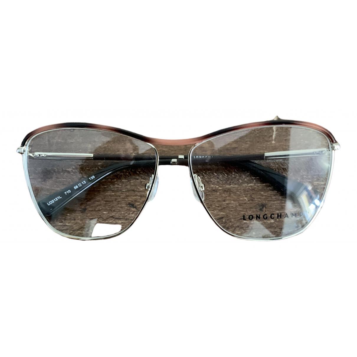 Longchamp \N Gold Metal Sunglasses for Women \N