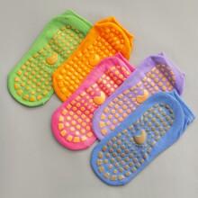 5 Paare bunte Slip-on Socken