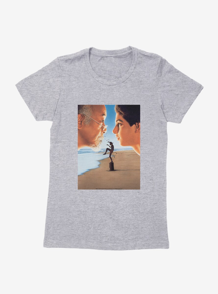 The Karate Kid Poster Womens T-Shirt