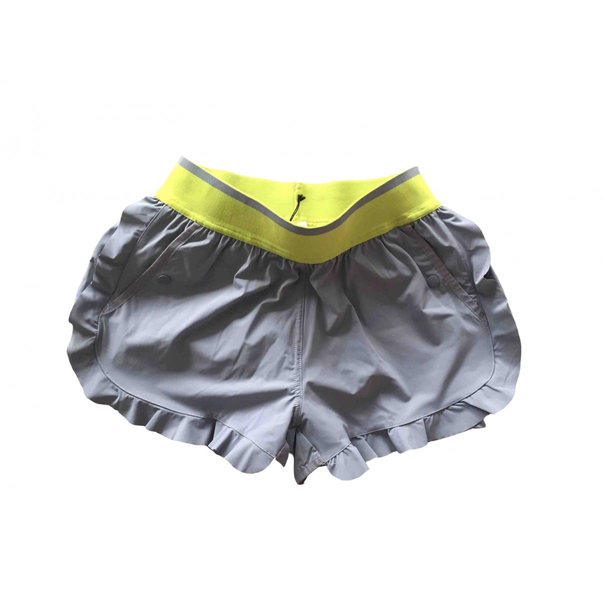 Stella Mccartney Pour Adidas \N Grey Shorts for Women 36 FR