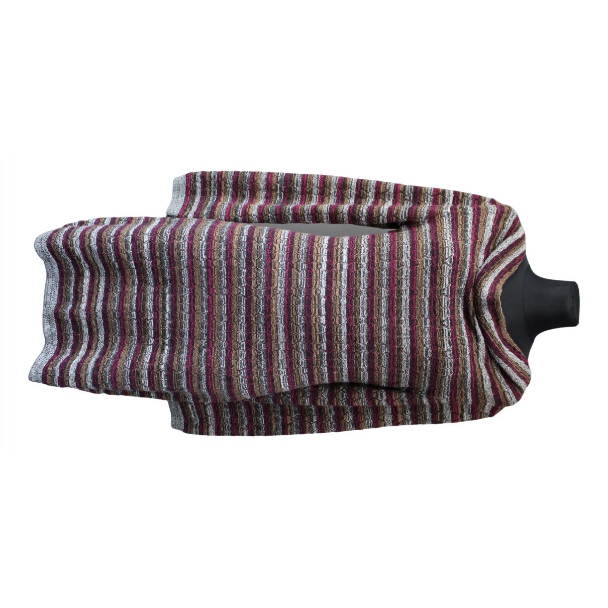 Missoni \N Kleid in  Bordeauxrot Wolle