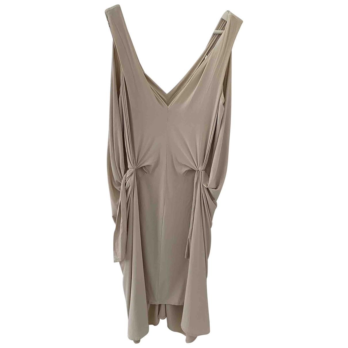 Diane Von Furstenberg - Robe   pour femme - beige