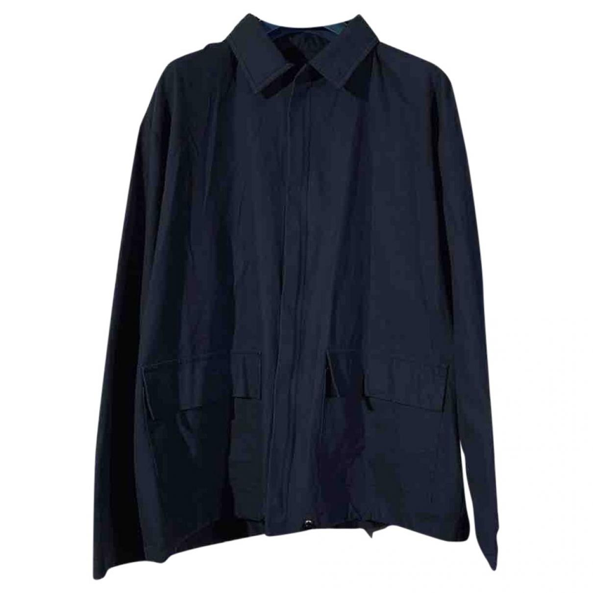 Dolce & Gabbana - Vestes.Blousons   pour homme en soie - marine