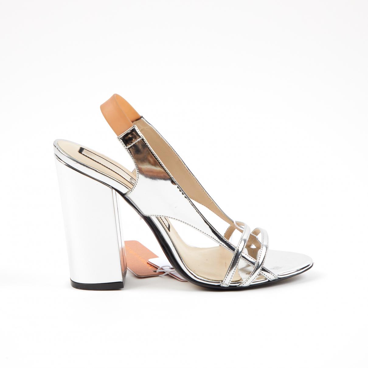 N°21 \N Sandalen in  Silber Leder
