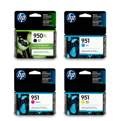 HP 950XL 951 Original Ink Cartridge Combo BK/C/M/Y