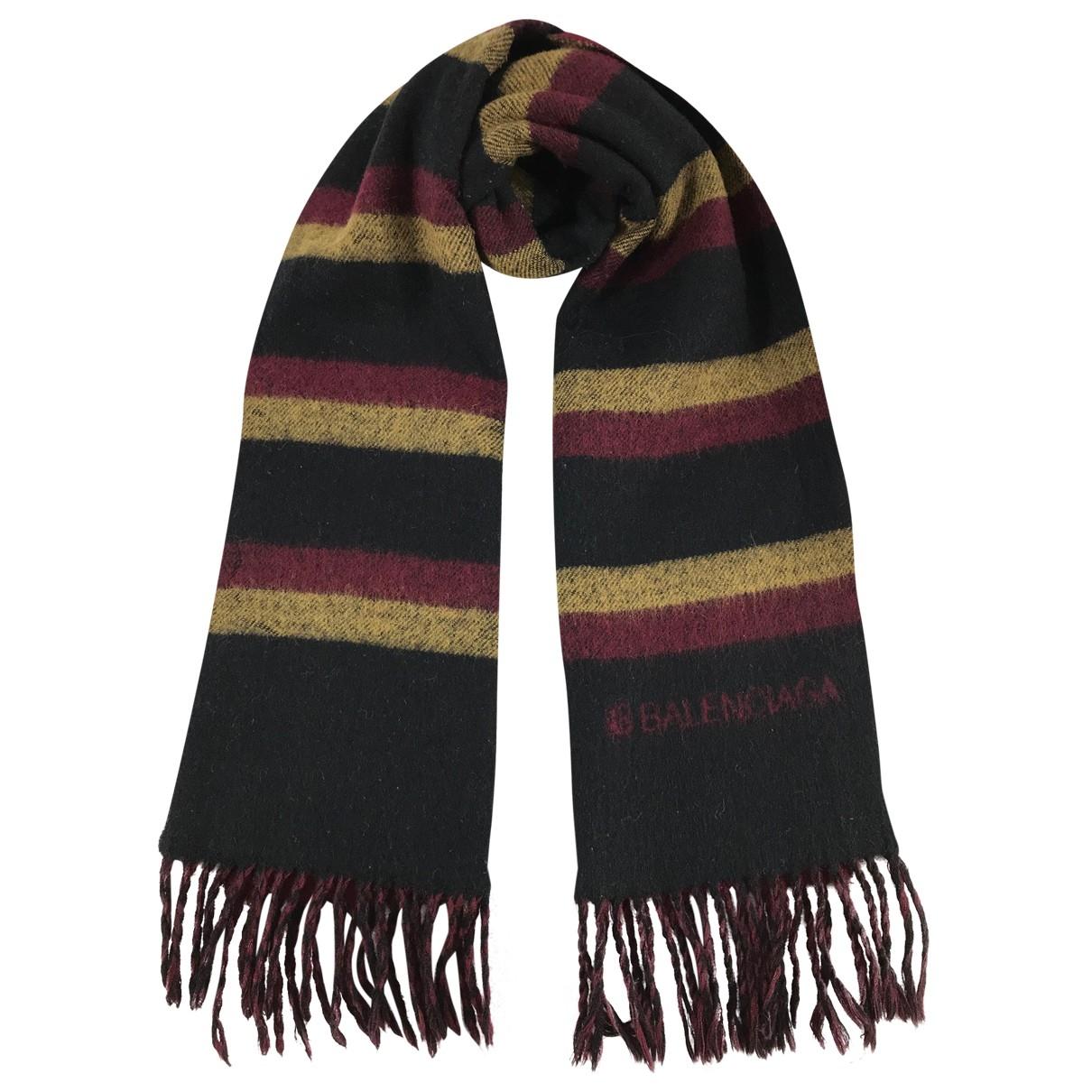 Balenciaga - Foulard   pour femme en laine