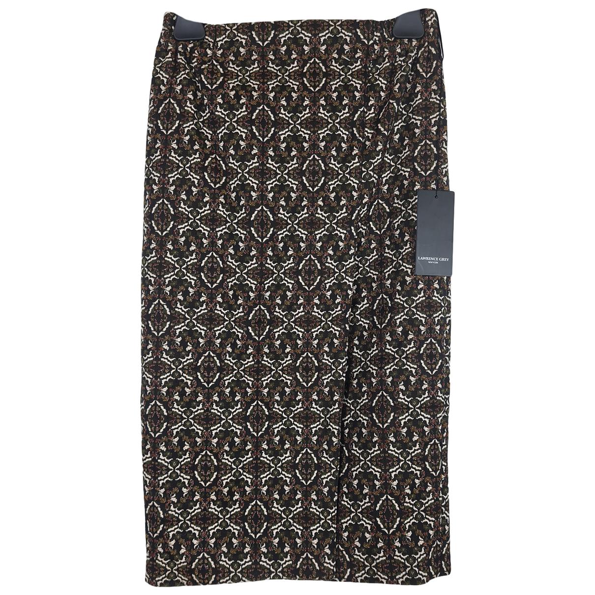 Lawrence Grey - Jupe   pour femme en coton - multicolore